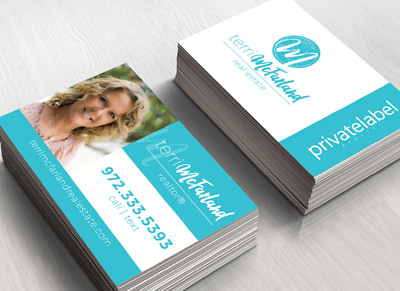 Business card blue indulge media cool business card for realtor colourmoves